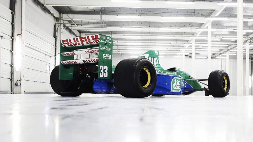 Schumachers F1-racer Jordan