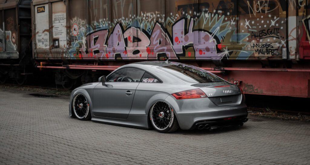 Audi TT Boosted