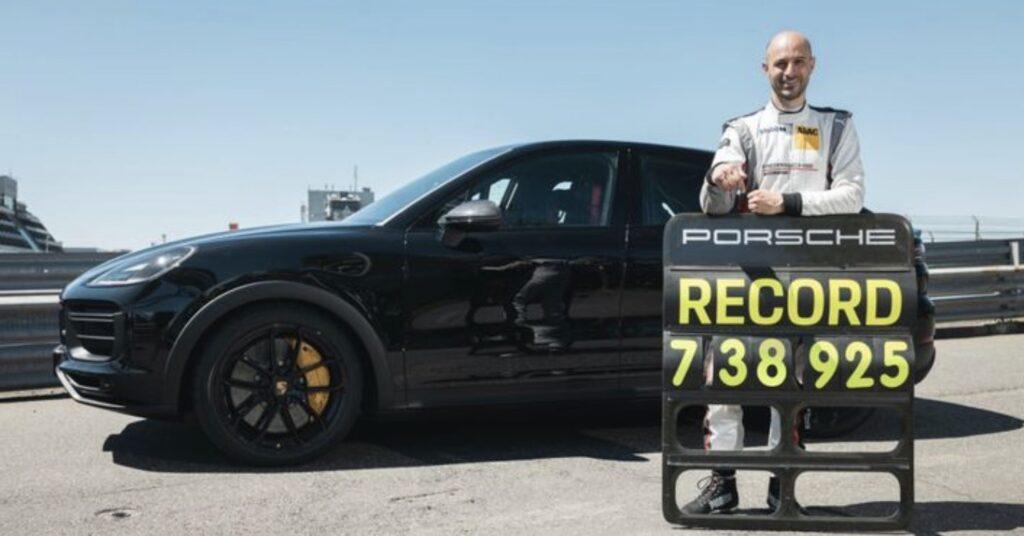 Porsche Cayenne Coupe rekord Nürburgring