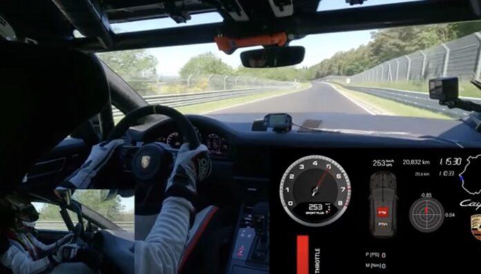 Porsche Cayenne Coupe rekord