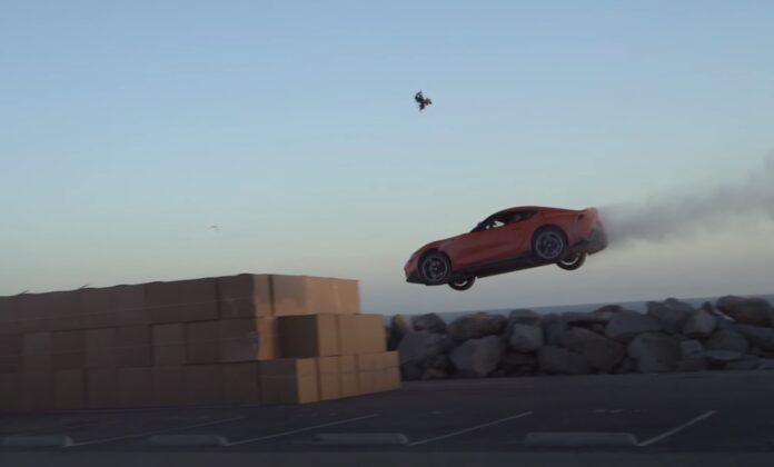 Toyota GR Supra reklame