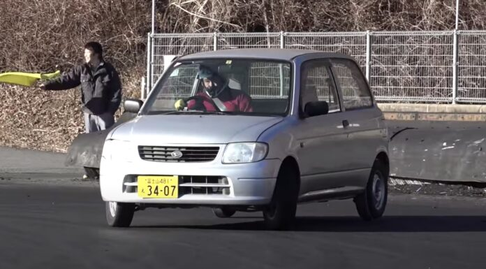 PVC drifting Kei-Cars