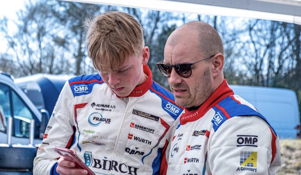 Gustav Birch og Casper Elgaard