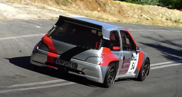 Peugeot 106 hillclimb