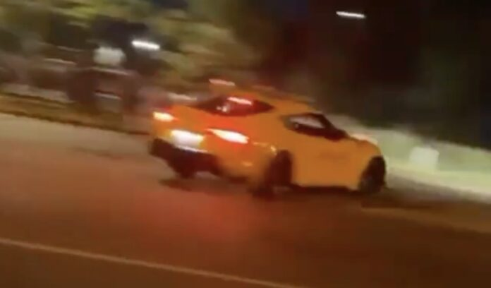 Toyota Supra streetdrift uheld