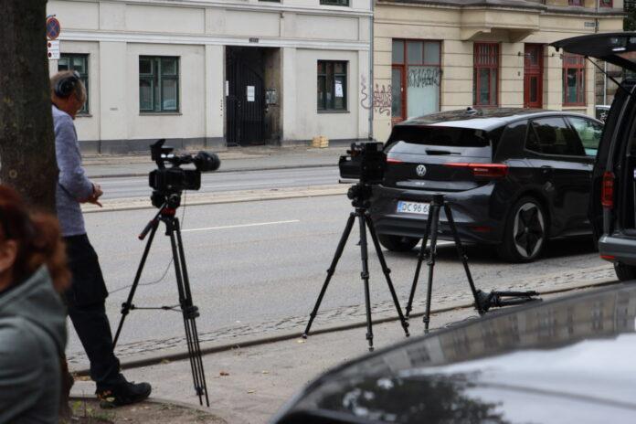 Tirsdag eftermiddag testede politiet noget nyt fartfælde-udstyr i København. Måske det i fremtiden bliver sværere at spotte en fotovogn.