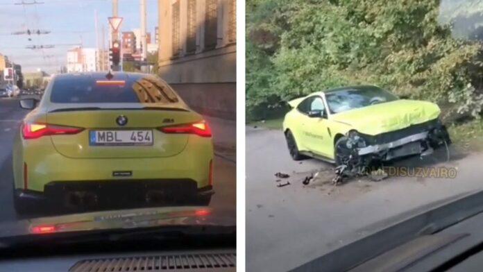 Den nye BMW M4 er et hidsigt bæst, som det bestemt ikke er alle forundt af kunne kontrollere.