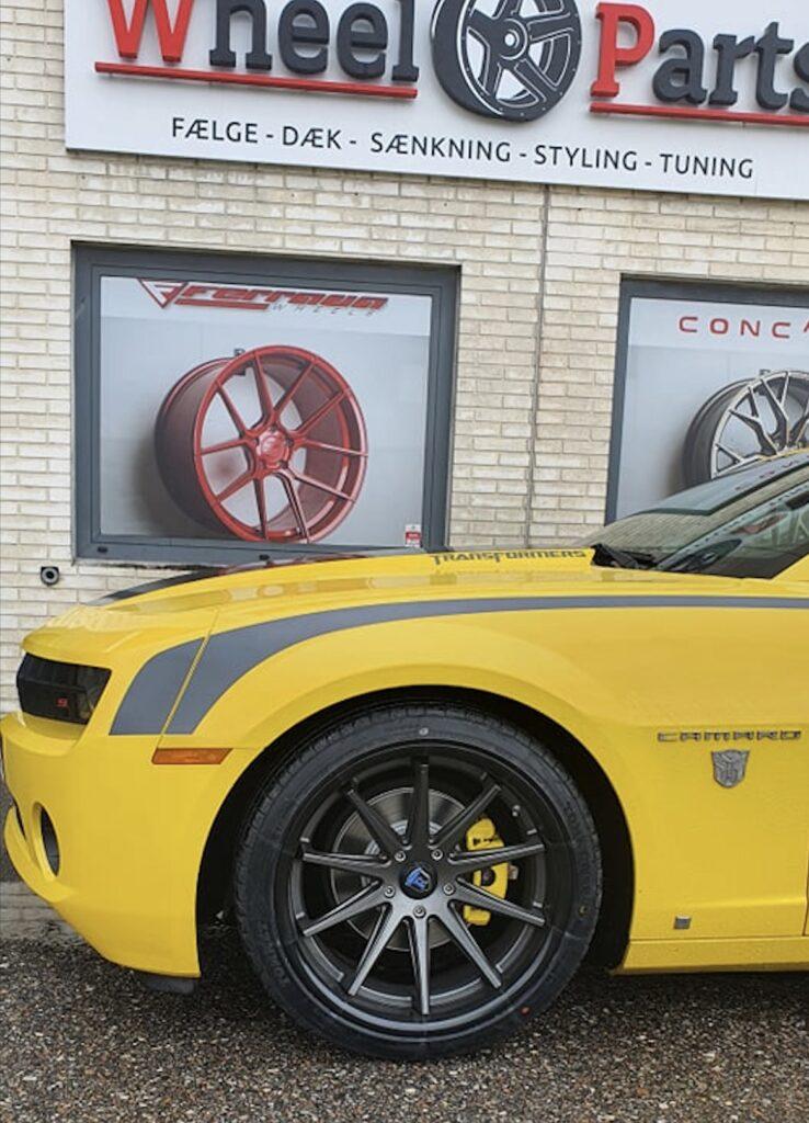 Chevrolet Camaro Bumblebee Wheel-Parts.dk