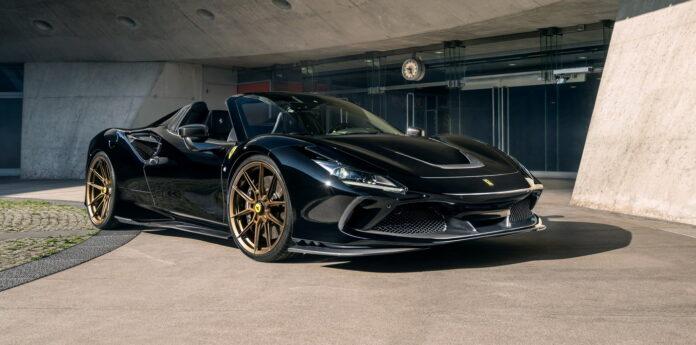 Vi skal lige understrege, at Ferrari F8 Spider på ingen måde er en sløv sag. Men mere vil altid have mere.