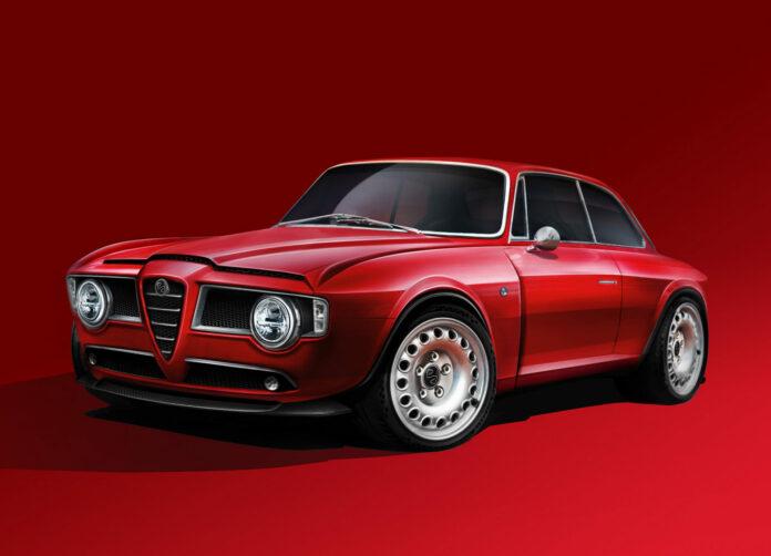 Det koster 3,1 millioner danske kroner - eller en halv million dollars - at bygge en klassisk Alfa Romeo Giulia GT om