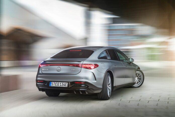 Få dage efter afsløringen af hybrid-V8'eren GT63 E-Performance er den første elbil fra Affalterbach klar.